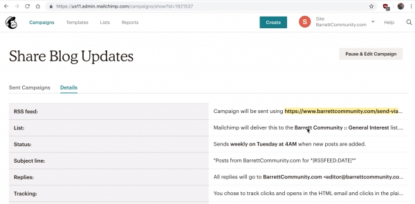 Video: How to Automatically Send Email Updates from Joomla + K2 using Mailchimp