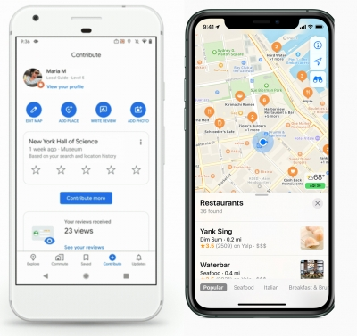 2020 Changes to Google Maps & Apple Maps