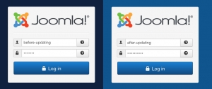 Security Issue?  Joomla 3.6.4 /administrator panel background color changed