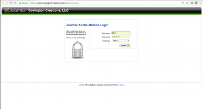 I'm still using Joomla version 1.5 for my site... yes, the version from 2012